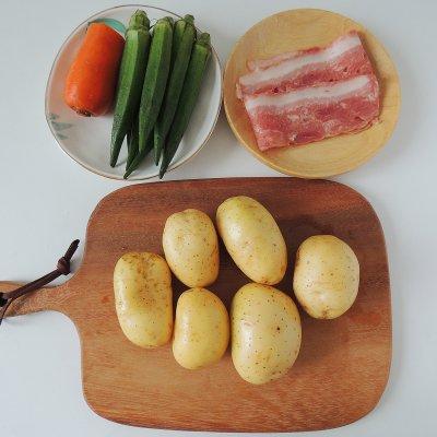 只有最美味的秋葵土豆泥,才能点亮你的餐桌