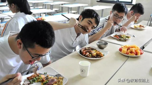 学军版舌尖诱惑,超豪华阵容自助餐助力高三学子